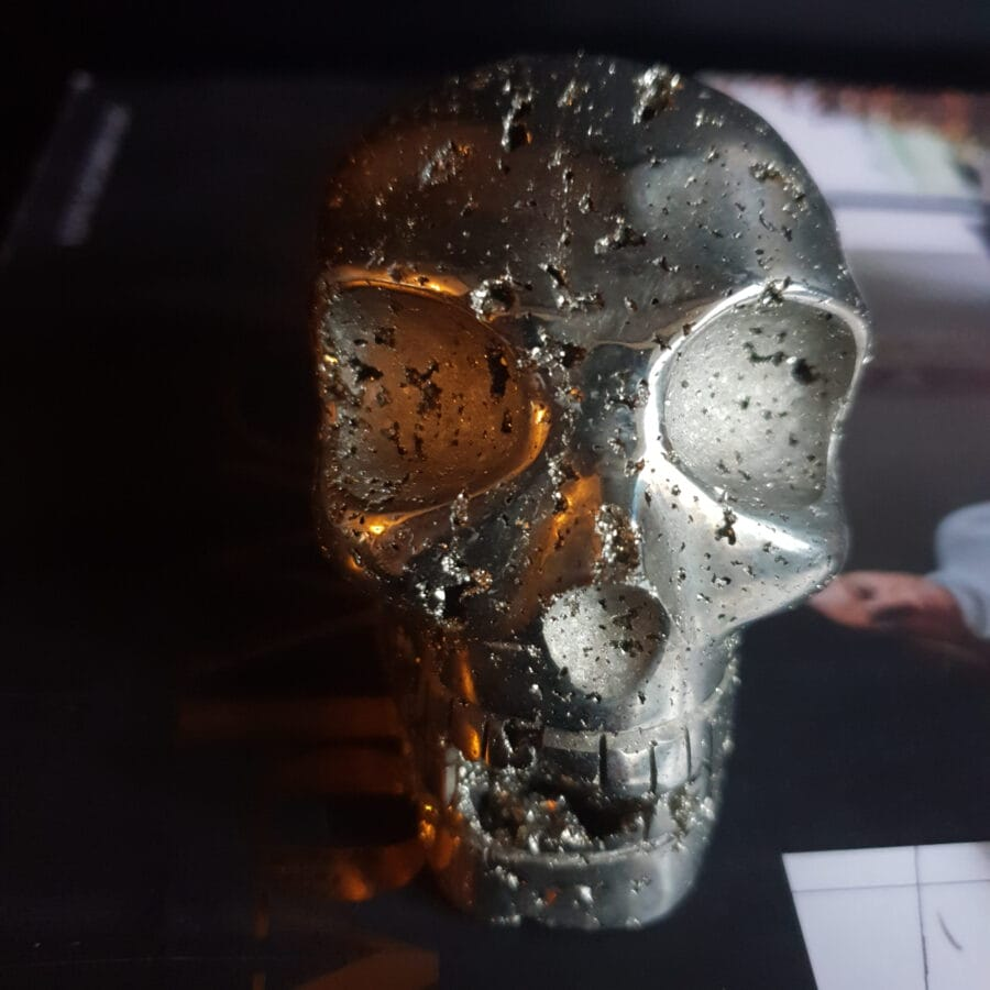 Golden Skull of Pyrite